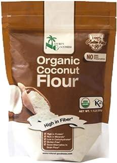 Nature's Goodness Baking Goods - Organic Coconut Flour, 1.1 Lb High Fiber, High Protein (GMO Free, USDA Organic, Gluten Fr...