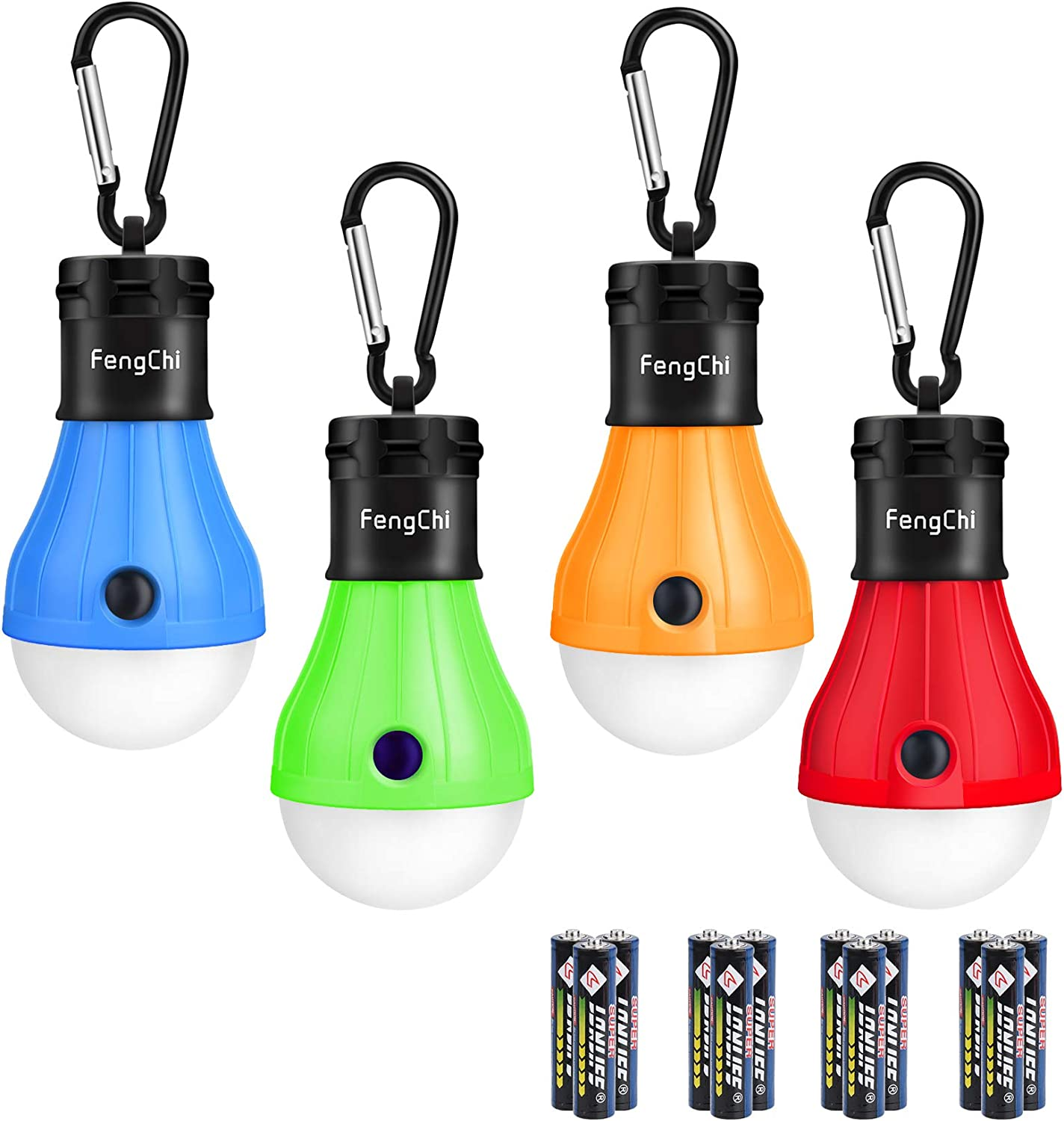 FengChi LED Industry Popular No. 1 Camping Lantern 4 Outdoor Pack Tent Ligh Portable