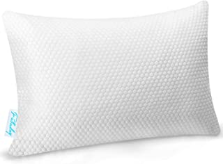 Fabuday Premium Shredded Memory Foam Pillows for Sleeping, Hypoallergenic & Loft Adjustable Pillows with Silky Soft Cooling Cover, Supportive for Side, Back, Stomach Sleepers, Queen Size 1 Pack
