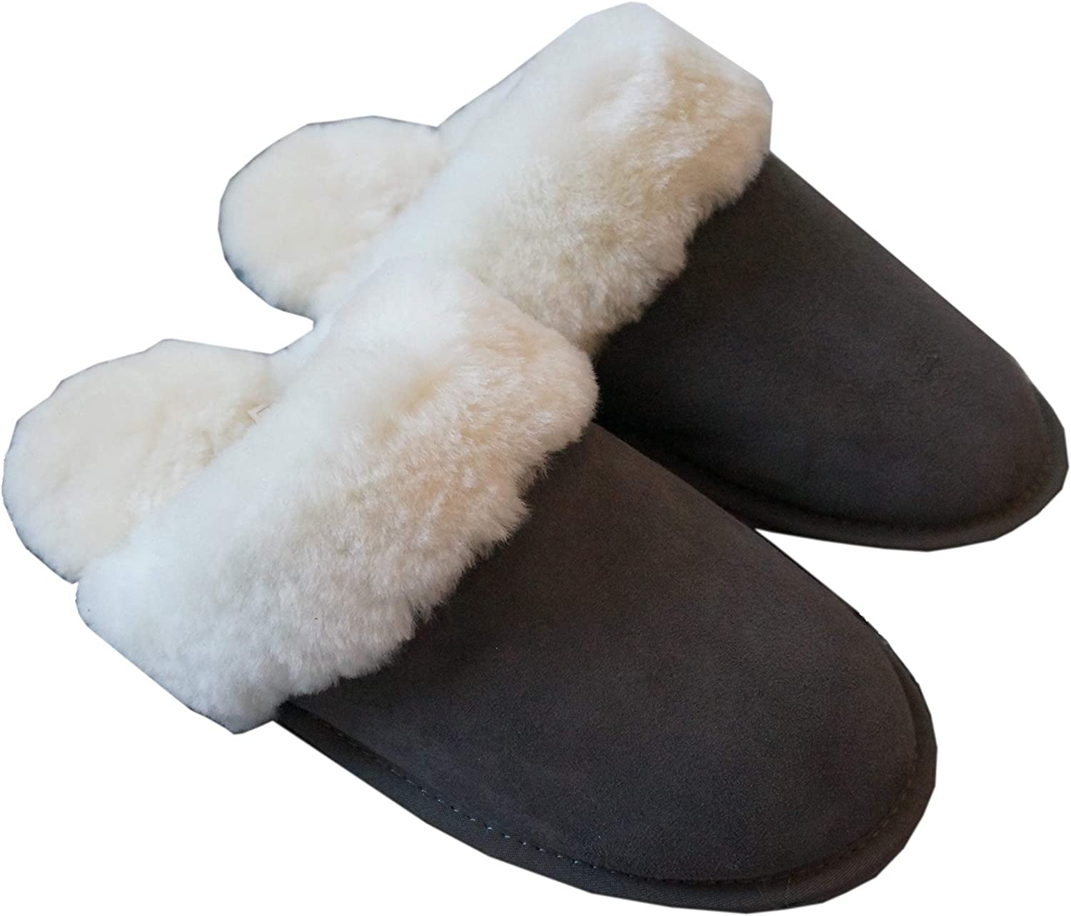 Authentic Sheepskin Wool Slippers - Canadian Brand