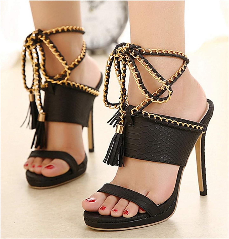 Women Pumps High Heel Gladiator Sandal shoes Party Dress shoes Woman Black Women Sexy High Heels