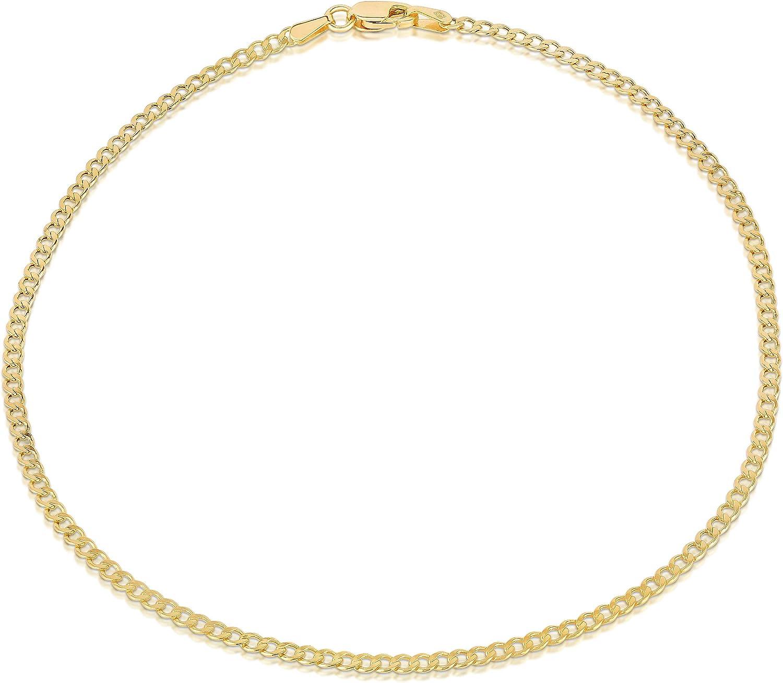 Recommended 14K Gold Anklets Nashville-Davidson Mall for Women. Inch Anklet 10 Flat Marine