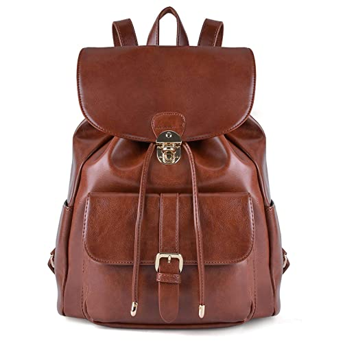 b99cc432ccb0 Leather Rucksack Bag  Amazon.co.uk