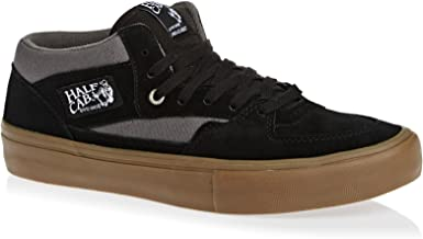 Vans Men's Half Cab Pro Ankle-High Suede Skateboarding Shoe