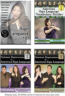 Sign Language Starter Kit (4 DVDs - 2021 Edition)