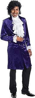 Purple Artist Jacket Adult Costume