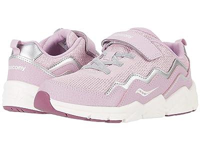 Saucony Kids S-Flash A/C 2.0 (Little Kid/Big Kid) (Pink Metallic) Girls Shoes