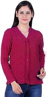 eWools Women's Ladies Girls Winter wear Woolen Cardigan