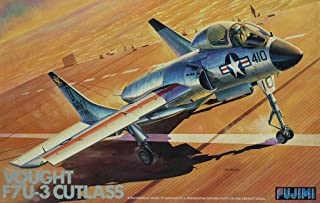 Fujimi 1:72 Vought F7U-3 Cutlass Plastic Aircraft Model Kit #7A-H10