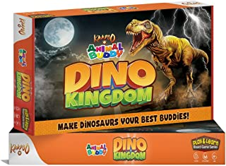 KAADOO ANIMAL BUDDY - Dinosaur Exploration Game - Play & Learn Kids Board Game -Fantastic Introduction for 4+ year olds- F...