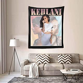 Qwertyi Kehlani Tapestry 6051inch Tapestry Outdoor Wall Hanging Decorative Wall Blanket Bedroom Tapestry