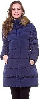 navy blue parka coat
