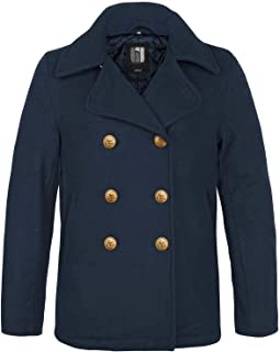 Cappotto invernale Navy Pea Coat Marine