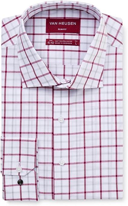 Van Heusen Men's Slim Fit Shirt Check