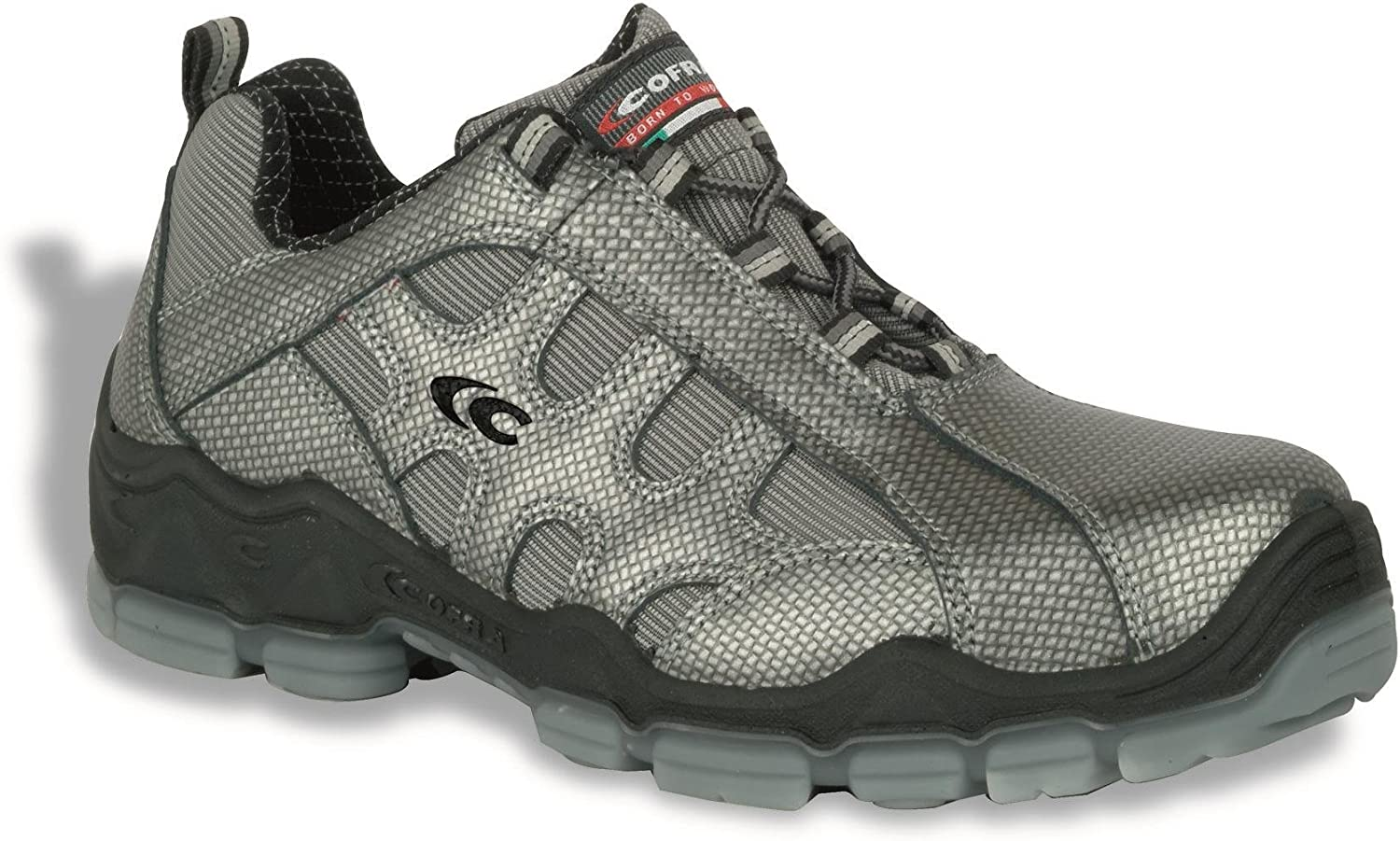 Cofra 20030-000.W45 Size 45 S1 P SRC  Miro  Safety shoes - Grey - EN safety certified