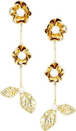 Kate Spade New York - Lavish Blooms Linear Earrings
