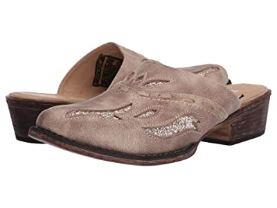 Roper Beth Snip Toe (Tan Faux Leather) Women