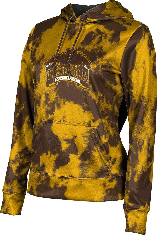 ProSphere Temecula Valley High School Girls' Pullover Hoodie, School Spirit Sweatshirt (Grunge)