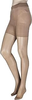 Ladies 1 Pair Oroblu Shock Up 40 Denier Bottom Lifting Shaping Tights Ambre Extra Large (XL, Ambre)