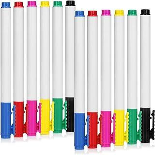 COM-FOUR® 12x Vaatwerkstift - porseleinen pen voor het beschilderen van bekers en keramiek - glazen en porseleinen stiften...