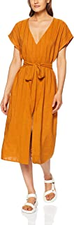 THIRD FORM Women's Tied in Front Dress, Copper