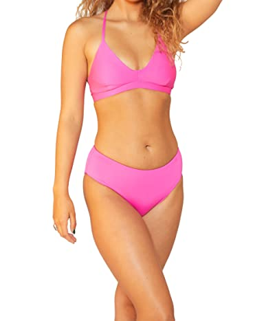 Hurley Solid Adjustable Bikini Top Women