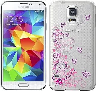 [Breeze-正規品] iPhone ・ スマホケース ポリカーボネイト [透明-Purple] ギャラクシー カバー GALAXY S5[SC-04F][SCL23]