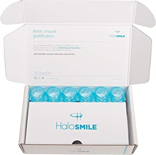 HaloSmile Instant Teeth Whitening Cosmetic (6 Applications, Celebrity White)
