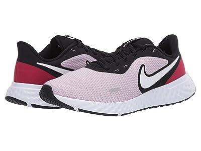 Nike Revolution 5 (Iced Lilac/White/Black/Noble Red) Women