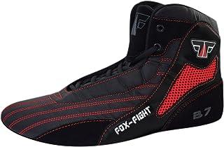 FOX-FIGHT B7 Sambo, scarpe professionali di alta qualità, con suola in pelle scamosciata