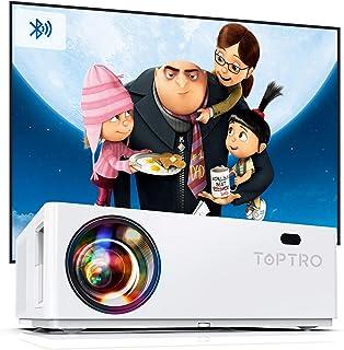 Proiettore Bluetooth TOPTRO Videoproiettore 7200 Lumen Full HD 1080P Nativo Supporta 4K Zoom Correzione Trapezoidale ± 50 ...