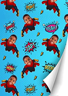 COMICS superheroes gift for Christmas gift wrap Personalized kids pouch