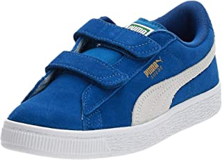 PUMA Unisex Kid's Suede 2 Straps Ps Low-Top Trainers