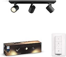 Philips Hue Runner opbouwspot 3-Lichts - Duurzame LED Verlichting - Warm tot Koelwit Licht - Incl. dimmer switch - Verbind...