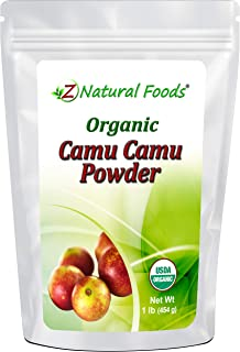 Camu Camu Powder Organic - All Natural Vitamin C Supplement For Immune Support & Mood Boost - Mix In Smoothies, Drinks & R...