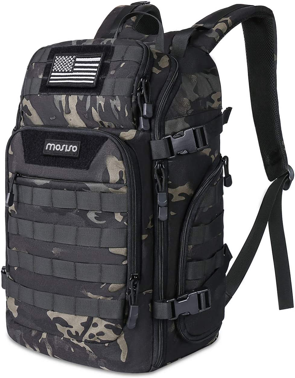 Fresno Mall MOSISO 30L Tactical Backpack Military Mol Assault 3 New popularity Daypack Day