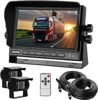Dual Backup Camera with Monitor Kit System(12-24V) 7