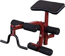 Body-Solid Best Fitness Preacher Curl and Leg Extension and Leg Curl Attachment (BFPL10)