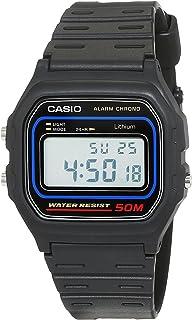 Casio W-59-1 Black Resin Classic Retro Style Unisex Digital Watch