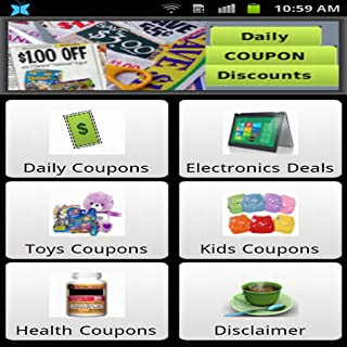 Daily Coupons and Discounts