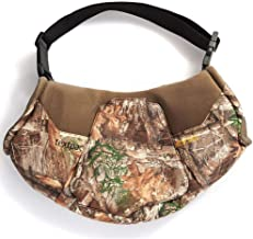 HOT SHOT Men's Camo Shaped Textpac Hand Muff – Insulated Warmer, Realtree Edge, Outdoor Hunting Camouflage