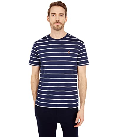 Polo Ralph Lauren Classic Fit Soft Cotton T-Shirt (French Navy/White) Men
