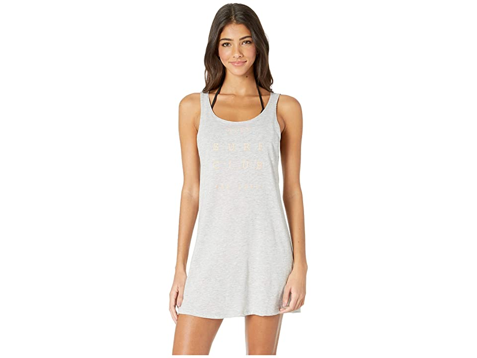 Roxy Travel To Live Tee Cover-Up Dress (Heritage Heather) Women