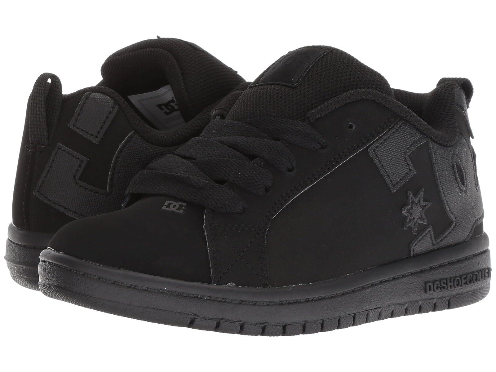 DC Kids Court Graffik (Little Kid/Big Kid)Atmospheric grades have affordable shoes
