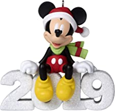 Hallmark Keepsake Christmas Ornament 2019 Dated Mickey Mouse A Year of Disney Magic