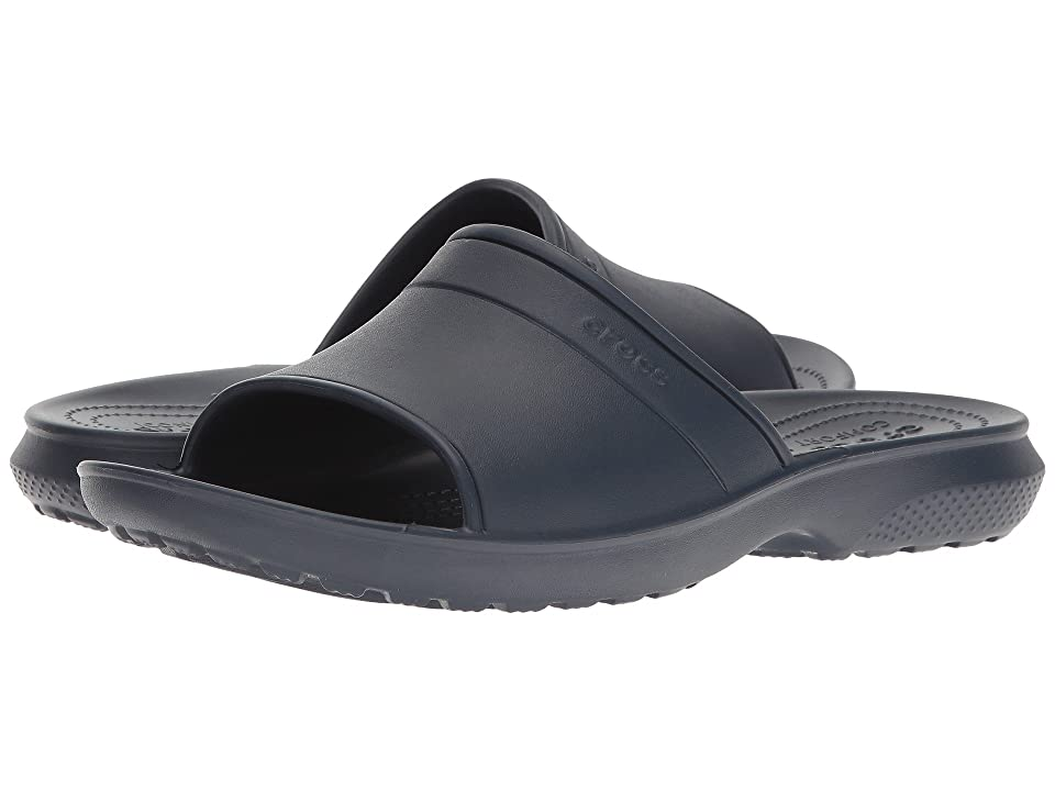 Crocs Classic Slide (Navy) Slide Shoes