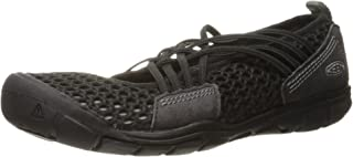 KEEN Women's CNX Zephyr Criss Cross Hiking Shoe 8 M US Black/Gargoyle