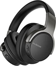 Active Noise Cancelling Headphones, Ausdom ANC8 Over-Ear Wireless Headphones Bluetooth Wired Stereo Headphones with Microp...