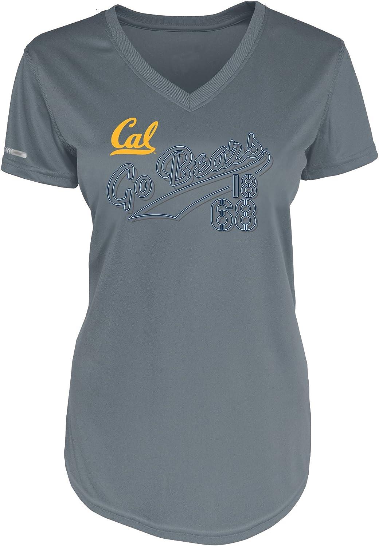 NCAA California golden Bears Short Sleeve VNeck Tee
