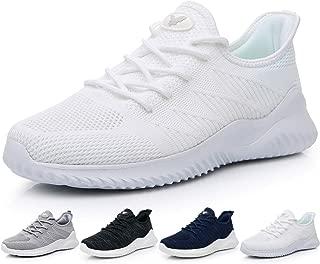 Men's Memory Foam Slip On Walking Tennis Shoes...